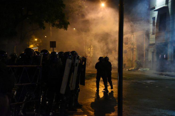 Periodistas sufren agresiones durante manifestación